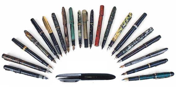 Dai pennini alla stilografica