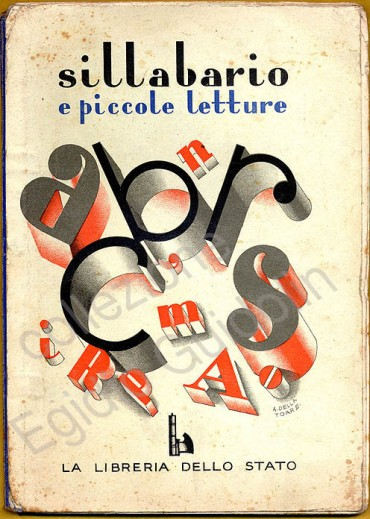 Un sillabario degli anni '30