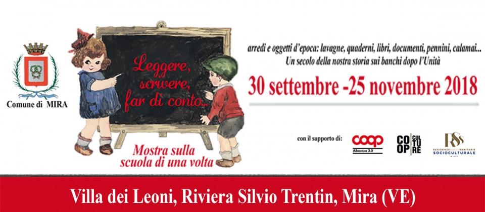 La mostra a Villa dei Leoni Mira (VE)